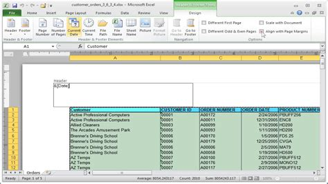 Excel current date function – How it works