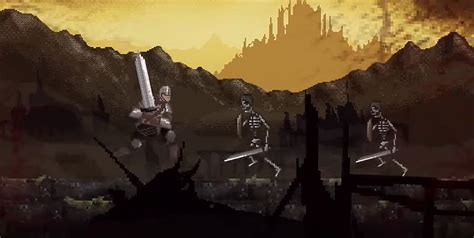 Slashy Souls is a Dark Souls-inspired mobile game that's