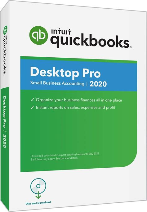 QuickBooks Pro 2020 – 3 User – Downloadable or Ship CD