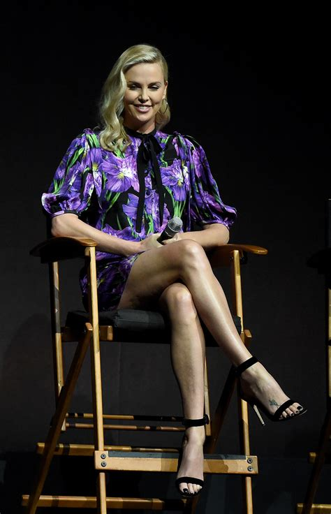 Charlize Theron's Feet