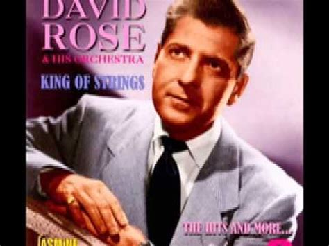 David Rose & His Orchestra - Holiday For Strings (1955