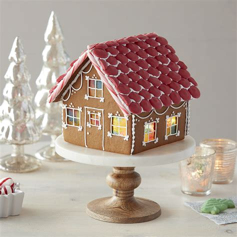 Candy Stained Glass Windows Gingerbread House | Wilton