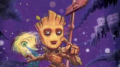 Baby Groot is getting his own comic, just in time for