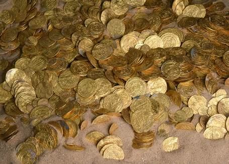 Treasure trove of ancient gold coins is the largest haul