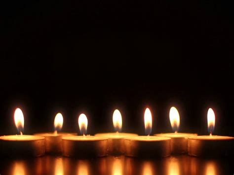 Candle PowerPoint For Free PowerPoint Download Backgrounds