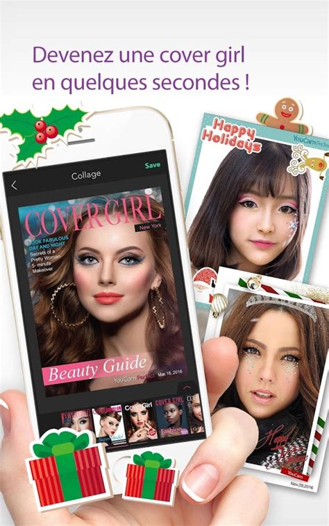 YouCam Perfect – Selfie Cam – Applications Android sur