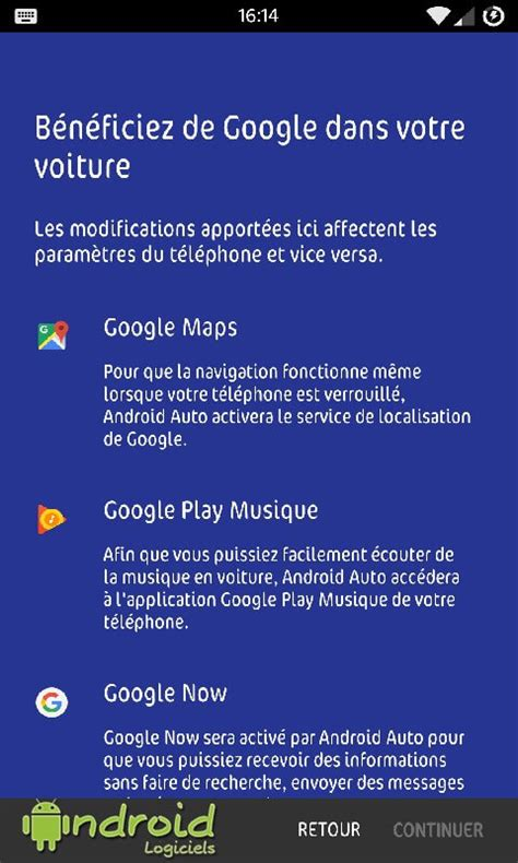 Android Auto   Android-Logiciels