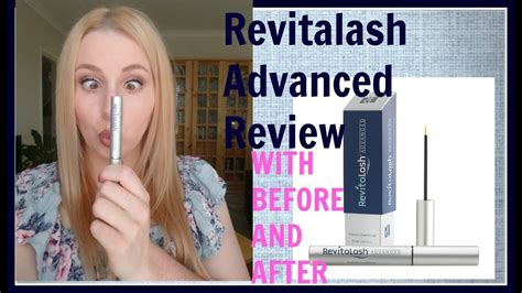 Revitalash Advanced Review (WITH BEFORE AND AFTER) - YouTube