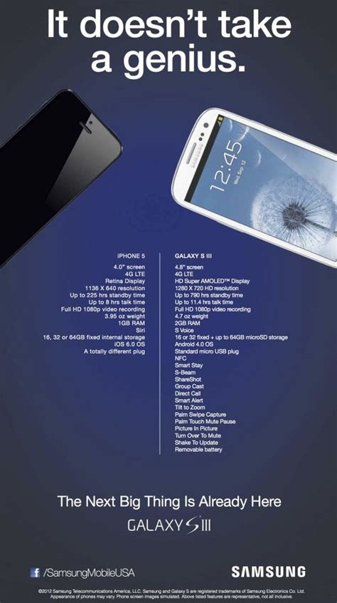 Behold Samsung's Ridiculous New Anti-iPhone 5 Ad [Image