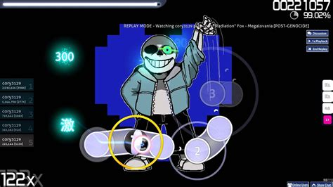 Megalovania Osu! Mouse only