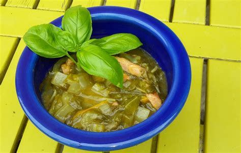 Recipe Swiss chard with the green instant pot - pressure