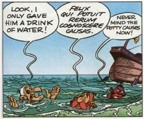 Asterix and Obelix All at Sea: Latin Jokes Explained