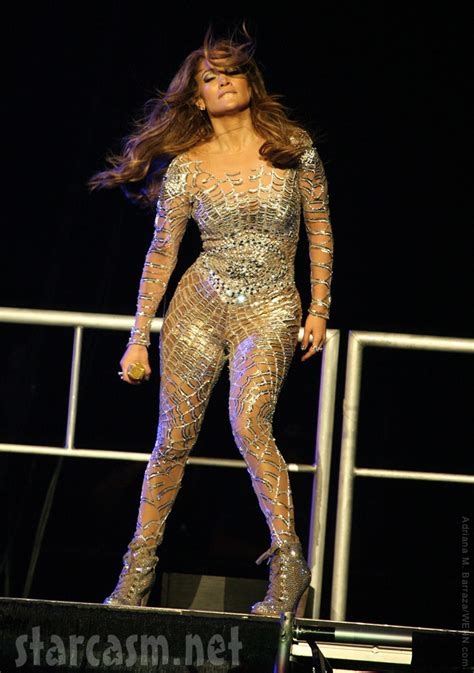 PHOTOS J-Lo Jennifer Lopez in a spider web body suit at
