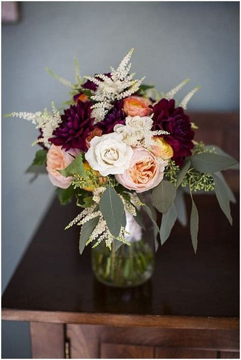 Top 18 Burgundy Wedding Centerpieces for Fall 2018 - Page