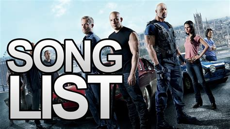 Fast and Furious 6 Song List (Soundtrack) (Links In