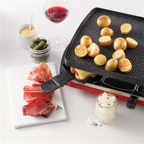 Raclette traditionnelle - 5 ingredients 15 minutes