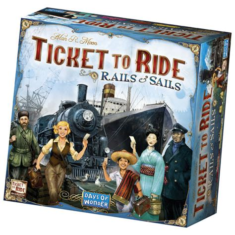 Ticket to Ride: Rails & Sails Board Game : Board Games