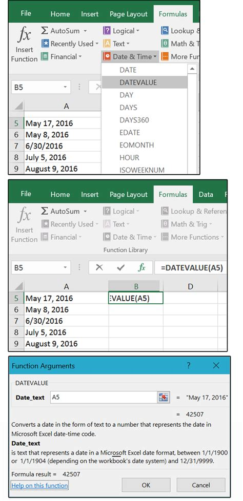 Mastering Excel Date & Time: Serial numbers, Networkdays