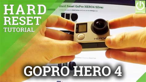 How to Hard Reset GoPro HERO 4 Silver - GoPro Factory