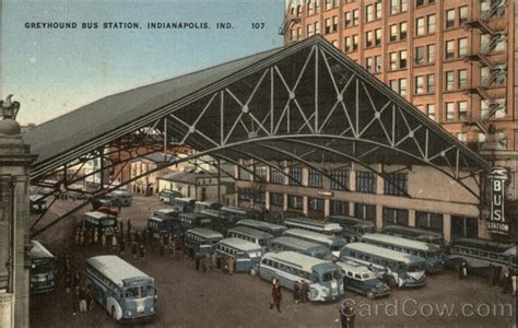 Greyhound Bus Station Indianapolis, IN