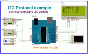 Connecting multiple I2C device on Arduino Uno R3 -Use