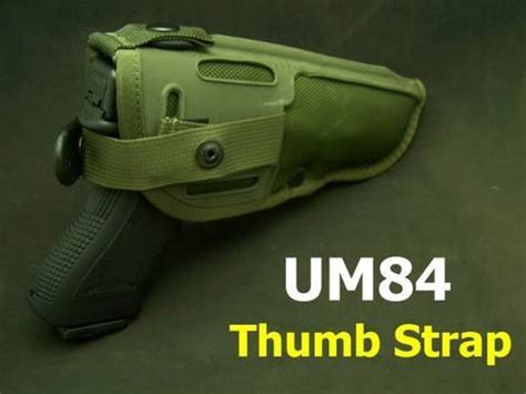 UM84 M-12 Holster Thumb Strap Review - YouTube