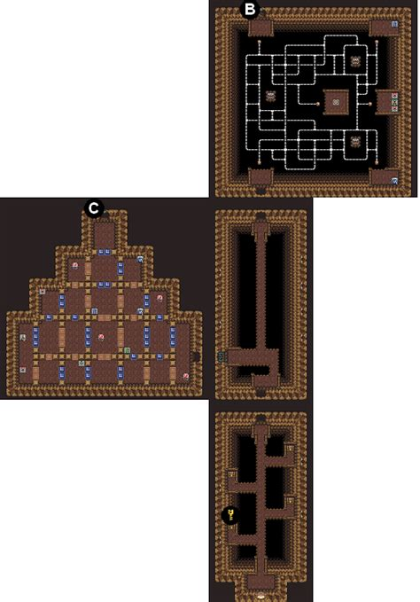 Mike's RPG Center - Zelda: A Link to the Past - Maps