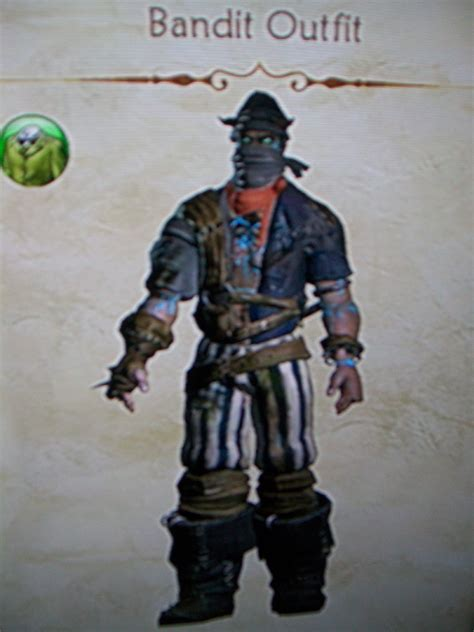 Bandit Outfit (Fable II)   The Fable Wiki   Fandom