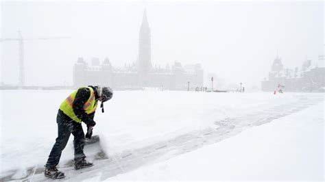 Ottawa weather forecast calls for 'significant snowfall