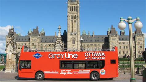 Hop on hop off Gray Line and Ottawa River (1 Day)   Ottawa