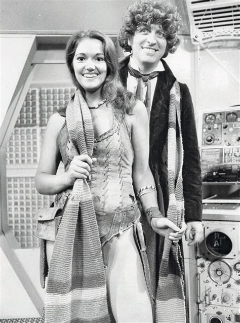 Actress Louise Jameson who played Doctor Who assistant