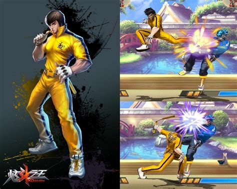 A Gallery of Video Game Characters Inspired by Bruce Lee