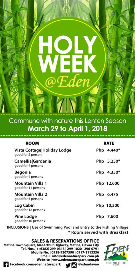 Eden Nature Park and Resort – Davao Life Is Here