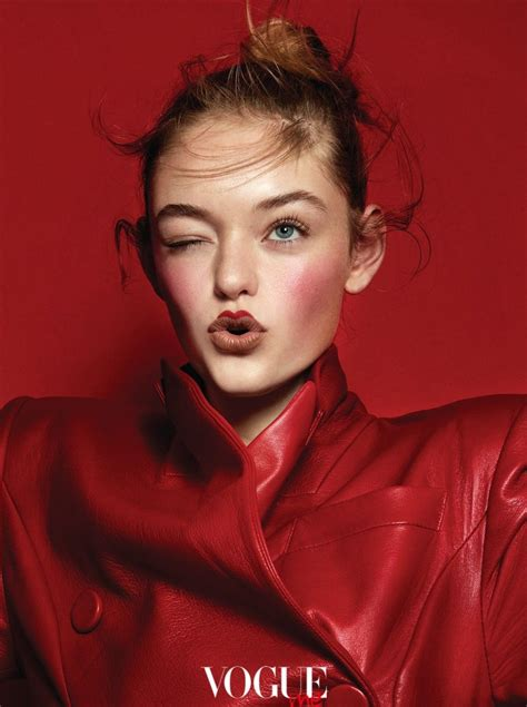 Willow Hand | Vogue Taiwan Me | Red Makeup Editorial