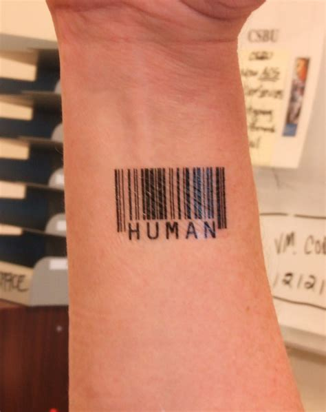 Barcode Tattoos Designs, Ideas and Meaning | Tattoos For You