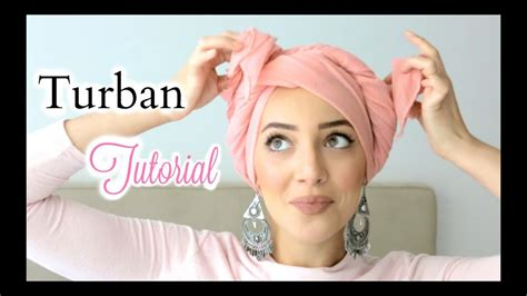 MY EASY PINLESS TURBAN TUTORIAL | COMMENT NOUER UN TURBAN