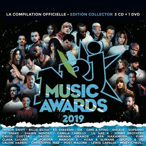 Download Nrj Music Awards 2019 3 CD + 1 DVD (2019) from