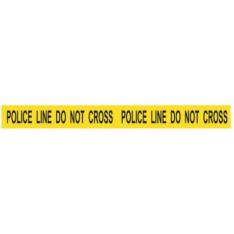 Stickers et autocollant bande Police Line do not cross