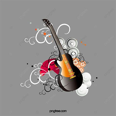Guitar Vector Png, Vector, PSD, and Clipart With