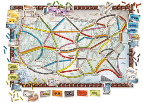 Ticket to Ride: Map Expansion 1: Asia   Arctic Board Games