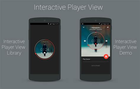 The Android Arsenal - Views - InteractivePlayerView
