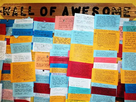 Signal Mountain Lodge: The Wall of Awesome!