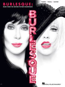 Burlesque by Cher and Christina Aguilera Sheet Music
