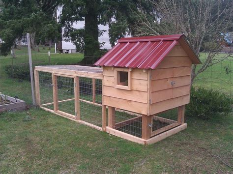 Chicken House Plans: How to Build a Chicken Ark