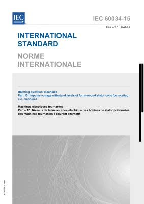 IEC 60034-15-2009 Rotating electrical machines - Part 15