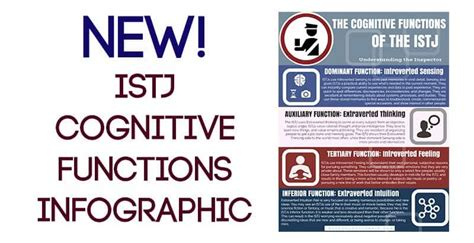 New! ISTJ Cognitive Functions Infographic - Psychology Junkie