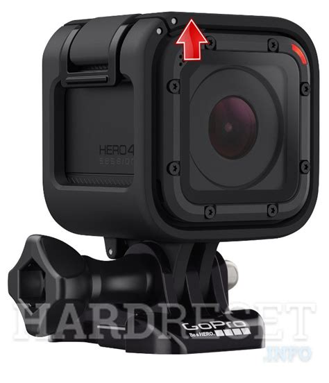 Recover Username or Password GoPro HERO SESSION, how to